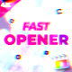 Fast Opener | FCPX and Motion 5 - VideoHive Item for Sale