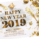 Happy New Year 2019 - GraphicRiver Item for Sale