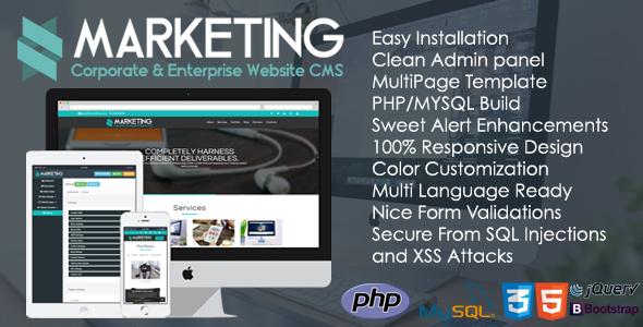 NULLED] Marketing V1 0 1 - Corporate & Enterprise Website