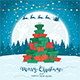 Christmas Tree from Gifts on Winter Background - GraphicRiver Item for Sale
