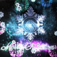 Snowflake Christmas Logo - VideoHive Item for Sale
