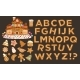 Happy Holidays, Christmas Abc Letters Font - GraphicRiver Item for Sale