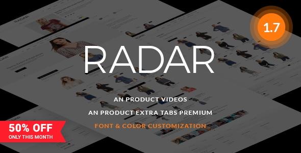 Rader Fashion Store - Fashion PrestaShop