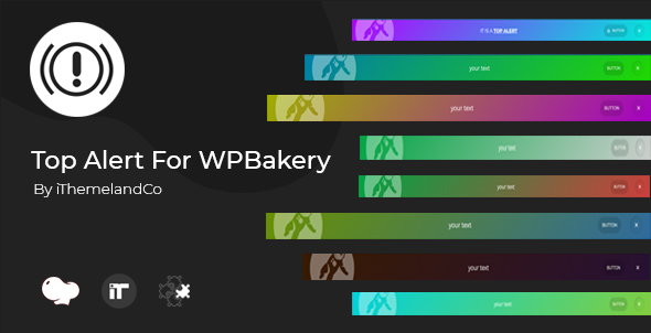 Top Alert For WPBakery Page Builder (Visual Composer) - CodeCanyon Item for Sale