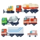 Heavy Industrial Vehicle Cars - GraphicRiver Item for Sale