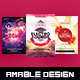 3 in 1 Electro Flyer/Poster Bundle - GraphicRiver Item for Sale