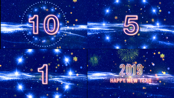 New Year Wishes V3 by StrokeVorkz | VideoHive