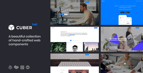 Cuber | Responsive Multipurpose WordPress Theme - Business Corporate