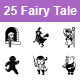 Free Download Fairy Tale II Vector Icons Nulled