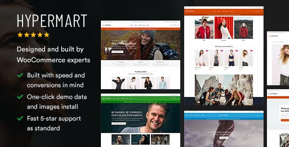 Hypermart - Fast, Conversion Optimized WooCommerce Theme - WooCommerce eCommerce