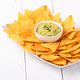 Guacamole sauce with chips - PhotoDune Item for Sale