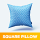Square Pillow MockUp - GraphicRiver Item for Sale