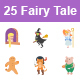 Fairy Tale II Color Vector Icons - GraphicRiver Item for Sale