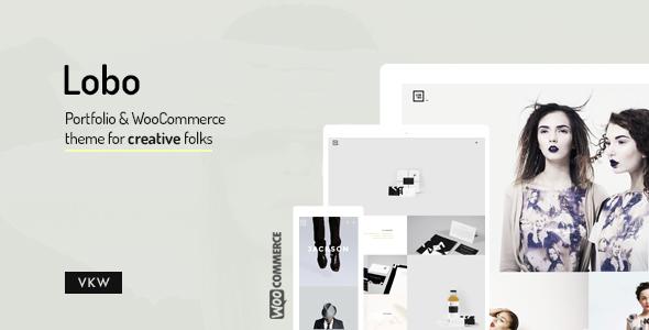 Lobo - WordPress Portfolio for Freelancers & Agencies - Portfolio Creative