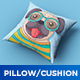 Square Pillow / Cushion MockUp - GraphicRiver Item for Sale