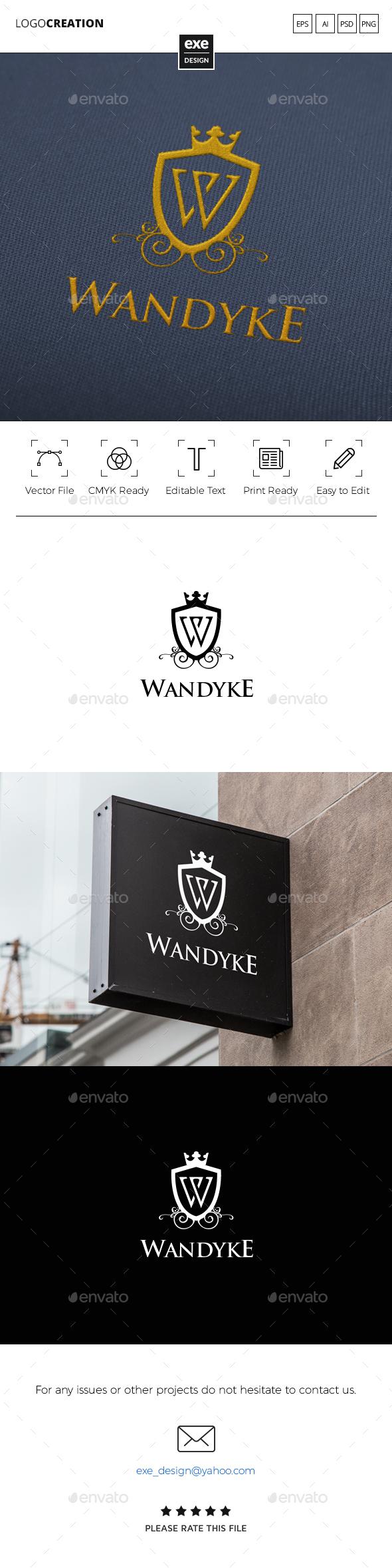 Luxury Letter W Logo - Letters Logo Templates