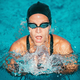 Breaststroke swimmer in the pool - PhotoDune Item for Sale