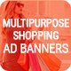 Free Download Multipurpose Shopping HTML5  Animated Ad Banner Nulled