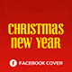 Free Download Christmas & New Year Facebook Cover Nulled