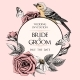 Free Download Vector Wedding Invitation with Hand Drawn Roses Nulled