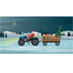 Santa Driving - GraphicRiver Item for Sale