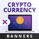 Free Download Cryptocurrency Web Banner Set Nulled