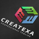 Createxa Hexagon Logo - GraphicRiver Item for Sale