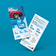 Free Download Car Wash Rack Card DL Flyer Nulled