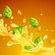 Free Download Beer with Hops and Seeds of Wheat Nulled