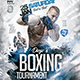Boxing Tournament Flyer - GraphicRiver Item for Sale