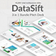 DataSift 3 in 1 Bundle Powerpoint Template - GraphicRiver Item for Sale
