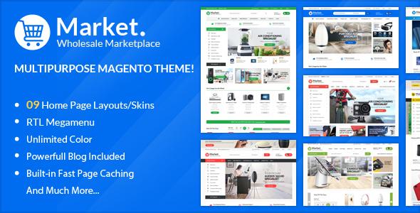 ALO Market - Responsive Magento 2 Theme ( RTL supported ) - Magento eCommerce