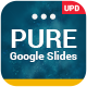 Pure Business Planner Solutions Google Slides Template Theme 2019 - GraphicRiver Item for Sale