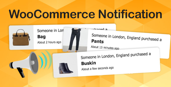 WooCommerce Notification | Boost Your Sales - Live Feed Sales - Recent Sales Popup - Upsells - CodeCanyon Item for Sale