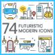 Futuristic Icons - Modern - GraphicRiver Item for Sale