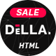 Free Download Della - One Page Joomla Template for Digital Agency Nulled