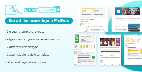 Everest Review Post Page Custom Post Type Review Plugin For