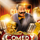 Stand Up Comedy Night Event Flyer - GraphicRiver Item for Sale