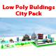Bulding pack Low Poly 3D Game Assets - 3DOcean Item for Sale