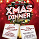 Christmas Dinner Menu - GraphicRiver Item for Sale