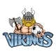 Viking Soccer Football Sports Mascot - GraphicRiver Item for Sale