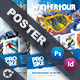 Free Download Winter Adventure Poster Templates Nulled