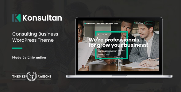 Konsultan | Consulting Business WordPress Theme - Business Corporate