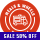 Free Download Meals & Wheels | Street Food Festival & Fast Food Delivery WordPress Theme Nulled
