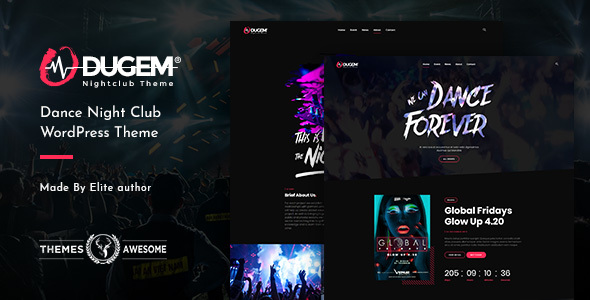 Dugem | Dance Night Club WordPress Theme - Entertainment WordPress