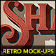 Free Download 10 Retro Mock-Ups vol. 03 Nulled