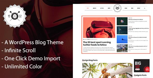 Octamag - Personal Blog & Magazine WordPress Theme