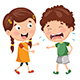 Vector Illustration of Kid Crying - GraphicRiver Item for Sale