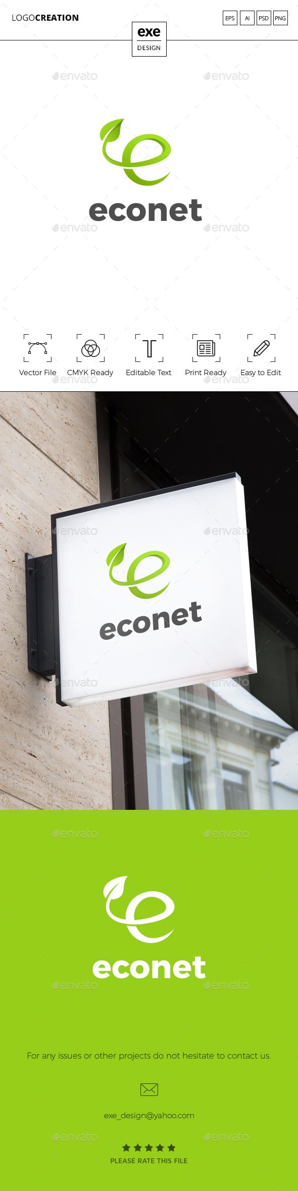 Letter E Logo - Letters Logo Templates