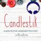 Candlestik Font - GraphicRiver Item for Sale